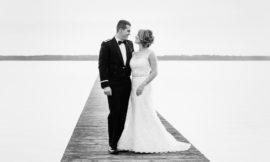 Camp Lejeune Winter Wedding | Jess + John