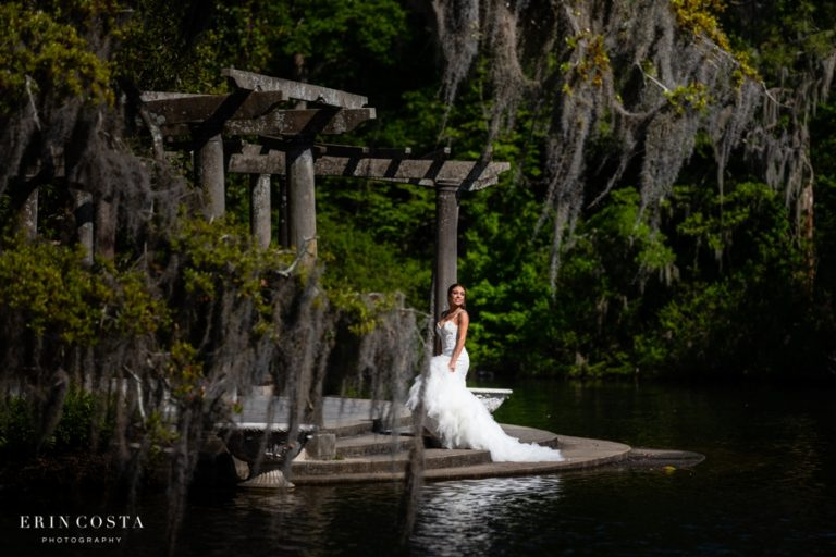 Read more about the article Airlie Gardens Bridal Photos | Angel