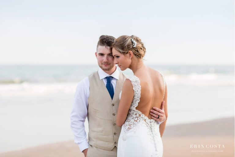 Read more about the article Topsail Beach Elopement Photos   Alison & Damien